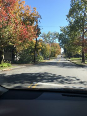 Fall in Glastonbury, CT - Intersection of Hubbard & Buttonball