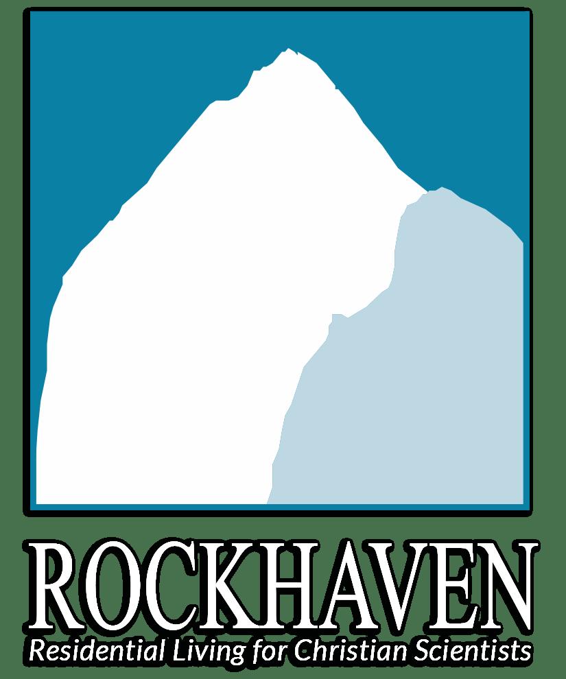 Rockhaven Logo Vertical Reversed