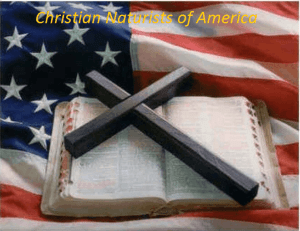 Christian Naturists of America