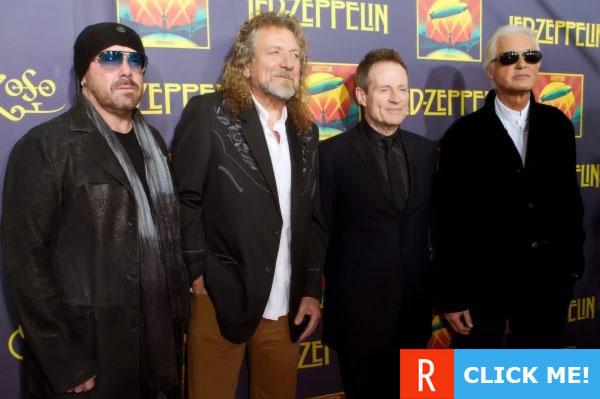 Led Zeppelin в наши дни