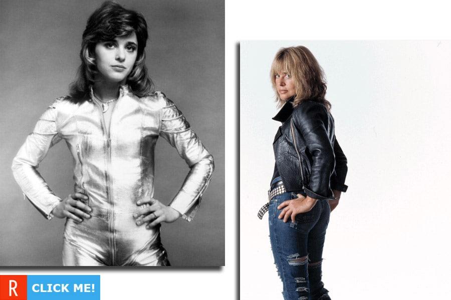 Сьюзи Кватро в 1974 и сейчас (фото)