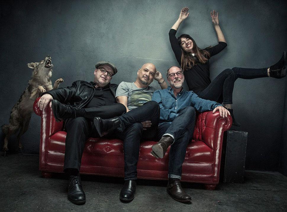 Pixies с новой басисткой (фото)