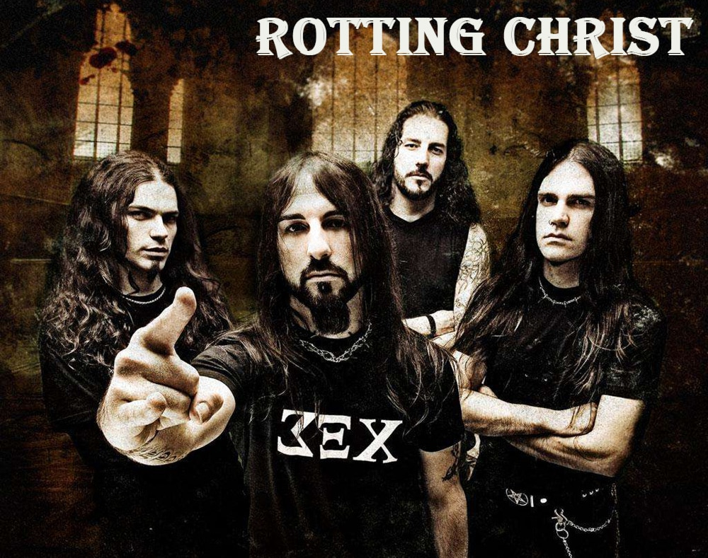 Блэк-метал группа Rotting Christ (фото)
