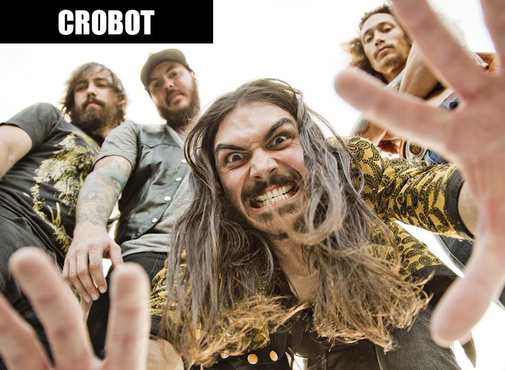 Группа Crobot в полном составе (фото)