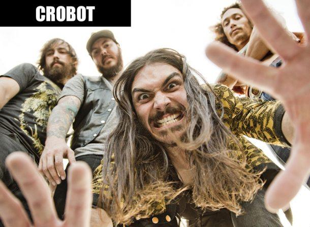 Хард-рок группа Crobot: рецепт успеха – подать классический рок 70-х под соусом современности