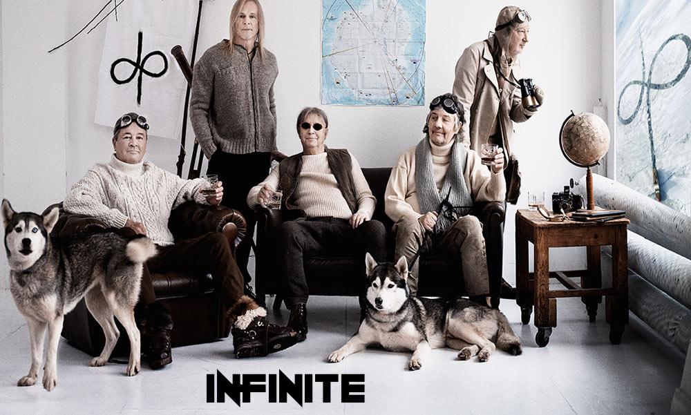 "Deep Purple альбом ""inFinite"" (фото)"