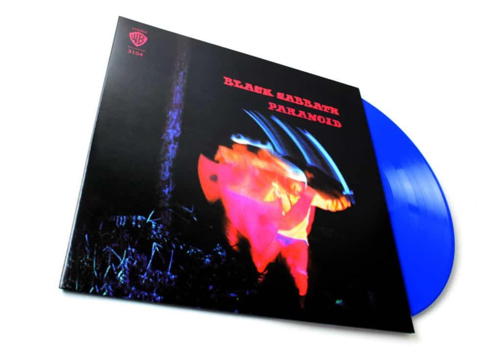 Голубой винил Black Sabbath «Paranoid» (фото)