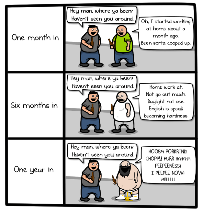 "The Oatmeal on ""Remote Work"""