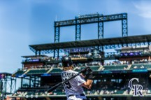 August 18, 2016 - The Colorado Rockies take on the Washington Nationals at Coors Field.