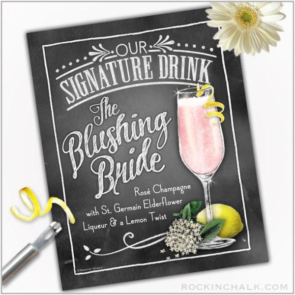 blushing-bride_elderflower_drink_sign