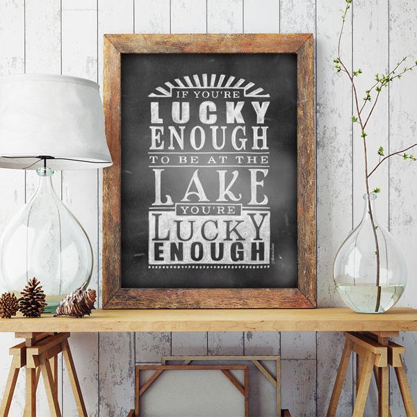 Lucky enough Lake