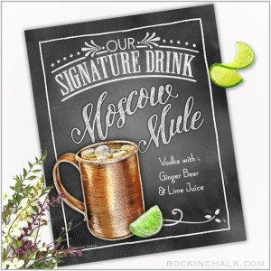 Moscow Mule in Smooth Copper Mug