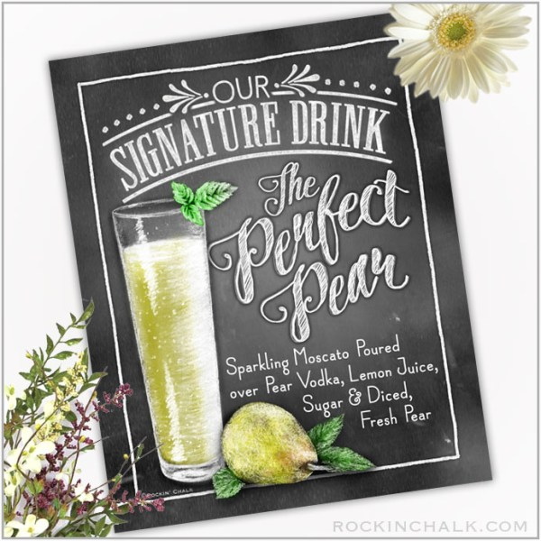 Perfect Pear Cocktail