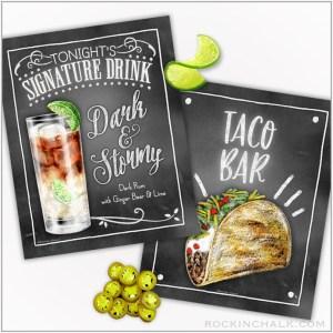 Food & Beverage Art