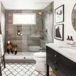 Rustic farmhouse style bathroom design ideas 6