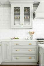Rustic And Classic Wooden Kitchen Cabinet 32
