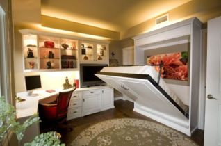 Saving space with creative folding bed ideas 15