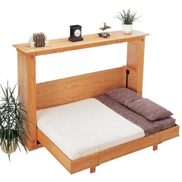 Saving space with creative folding bed ideas 18