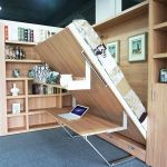Saving space with creative folding bed ideas 35