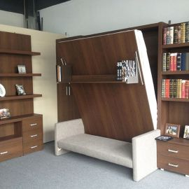 Saving space with creative folding bed ideas 43
