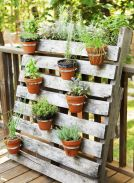 Amazing Creative Wood Pallet Garden Project 19