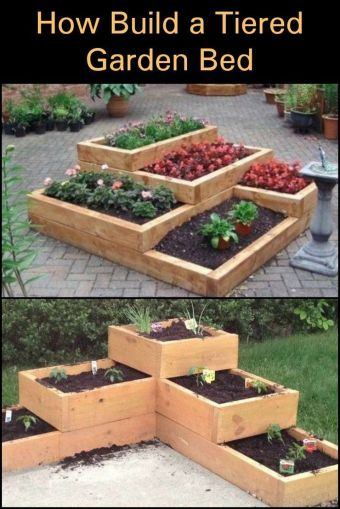 Amazing Creative Wood Pallet Garden Project 47