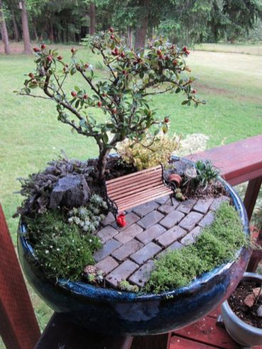 Amazing DIY Mini Fairy Garden for Miniature Landscaping 14