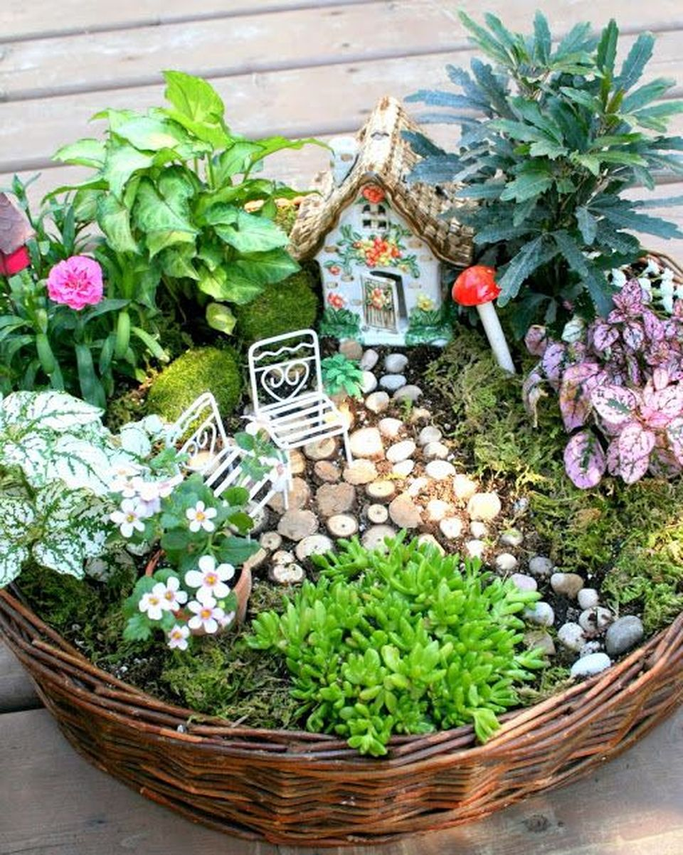 Amazing DIY Mini Fairy Garden for Miniature Landscaping 1