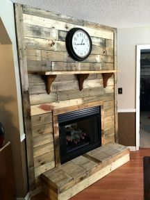Artistic Pallet, Peel and Stick Wood Wall Design and Decorations 31