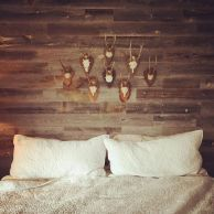 Artistic Pallet, Peel and Stick Wood Wall Design and Decorations 38