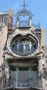 Beautiful art nouveau building architecture design 23