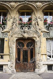 Beautiful art nouveau building architecture design 6