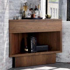 Corner bar cabinet for coffe and wine places 22