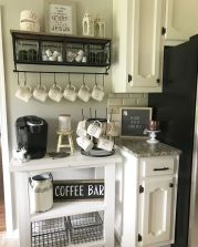 Corner bar cabinet for coffe and wine places 7