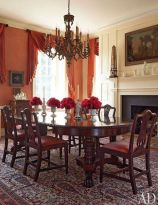 Glorious and Luxury Western Dining Room Design 16