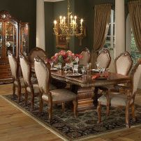 Glorious and Luxury Western Dining Room Design 20