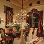 Glorious and Luxury Western Dining Room Design 23
