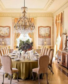 Glorious and Luxury Western Dining Room Design 29