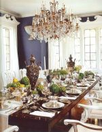Glorious and Luxury Western Dining Room Design 41
