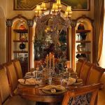 Glorious and Luxury Western Dining Room Design 44