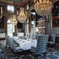 Glorious and Luxury Western Dining Room Design 8