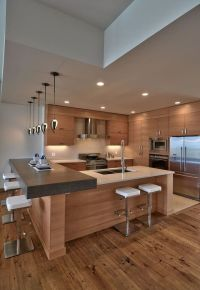 Modern and Contemporary Kitchen Cabinets Design Ideas 47