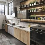 Modern and Contemporary Kitchen Cabinets Design Ideas 55