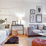 One room apartment layout design ideas 29