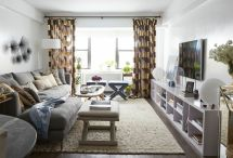 One room apartment layout design ideas 35