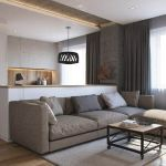 One room apartment layout design ideas 66