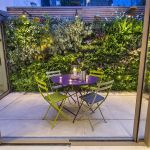 Small courtyard garden with seating area design and layout 53