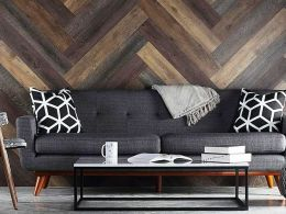 Stick Wood Wall Design and Decorations