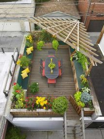 Amazing Rooftop Porch and Balcony Inspirations 12