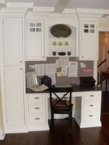 Awesome Built In Cabinet and Desk for Home Office Inspirations 59